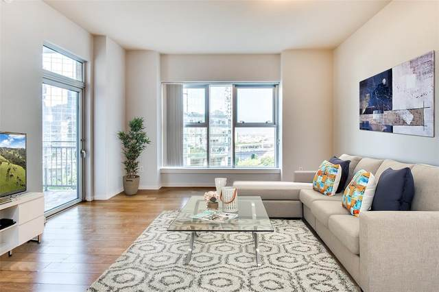 2323 Houston Street #615, Dallas, TX 75219 (MLS #14449984) :: Real Estate By Design