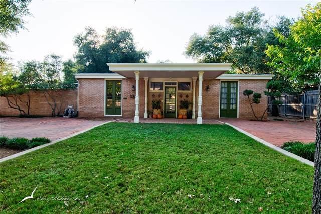 1042 Santos Street, Abilene, TX 79605 (MLS #14450345) :: The Mauelshagen Group
