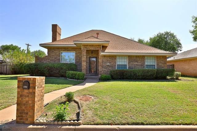 2797 Lynbrook Drive, Abilene, TX 79606 (MLS #14450374) :: The Mauelshagen Group