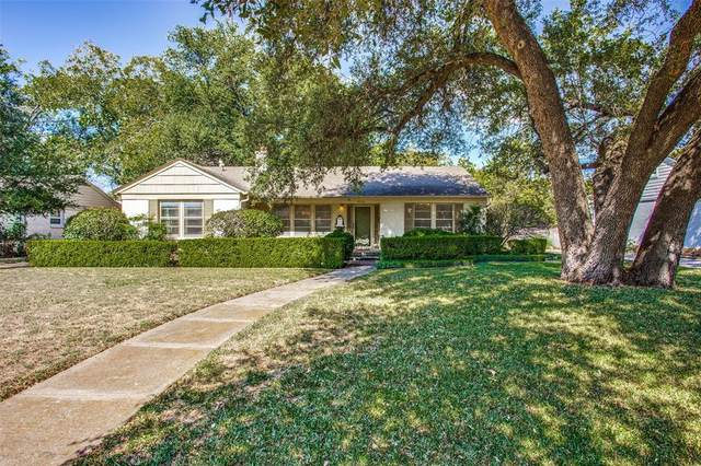 3624 S Hills Avenue, Fort Worth, TX 76109 (MLS #14450378) :: The Mauelshagen Group
