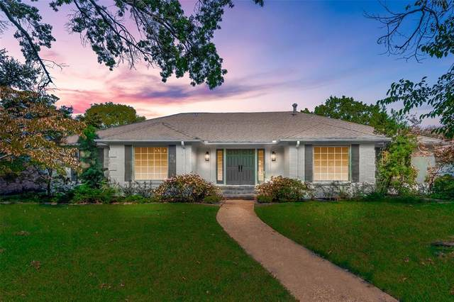 7705 Tanglecrest Drive, Dallas, TX 75254 (MLS #14450563) :: Hargrove Realty Group