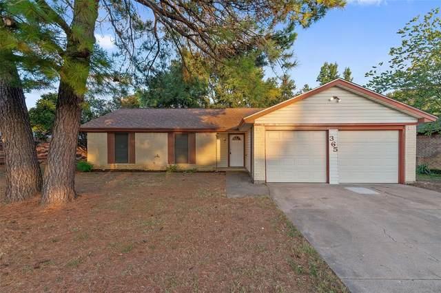 365 SW Rand Drive, Burleson, TX 76028 (MLS #14450688) :: The Mauelshagen Group