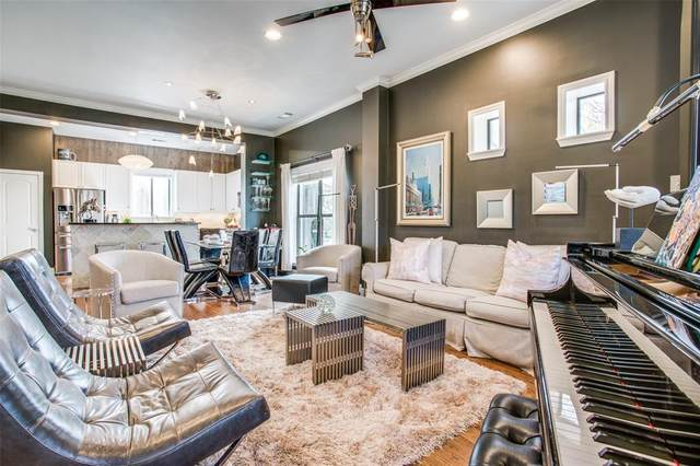 3802 Travis Street, Dallas, TX 75204 (MLS #14451392) :: The Mauelshagen Group