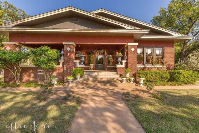 601 Sayles Boulevard, Abilene, TX 79605 (MLS #14451534) :: The Mauelshagen Group
