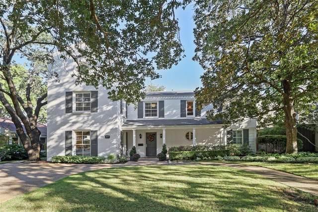 4640 Southern Avenue, Highland Park, TX 75209 (MLS #14451812) :: The Hornburg Real Estate Group