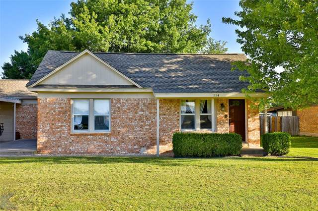 114 California Street, Clyde, TX 79510 (MLS #14452001) :: The Kimberly Davis Group