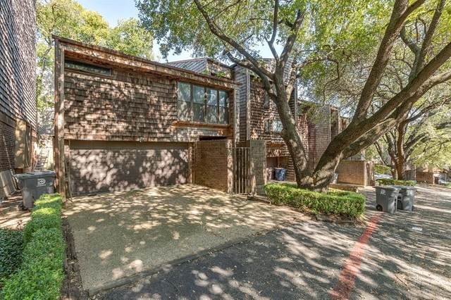 7418 Fair Oaks Avenue F, Dallas, TX 75231 (MLS #14452050) :: Post Oak Realty