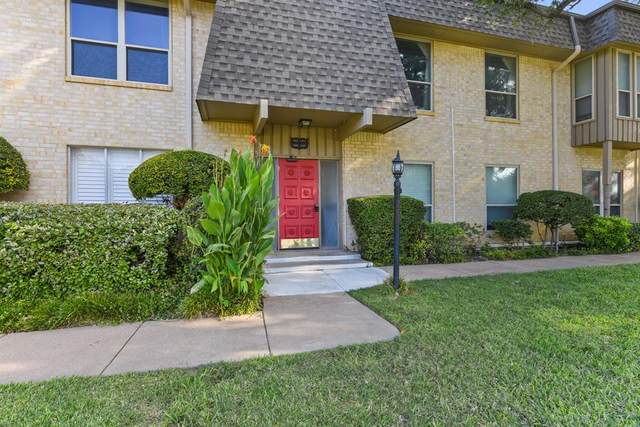 4320 Bellaire Drive S 106W, Fort Worth, TX 76109 (MLS #14452100) :: Front Real Estate Co.