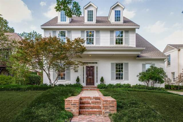 4536 Lorraine Avenue, Highland Park, TX 75205 (MLS #14452358) :: The Hornburg Real Estate Group