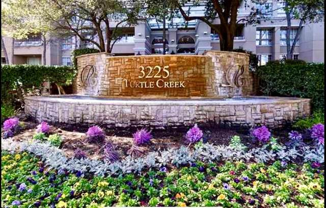 3225 Turtle Creek Boulevard #203, Dallas, TX 75219 (MLS #14452504) :: The Tierny Jordan Network