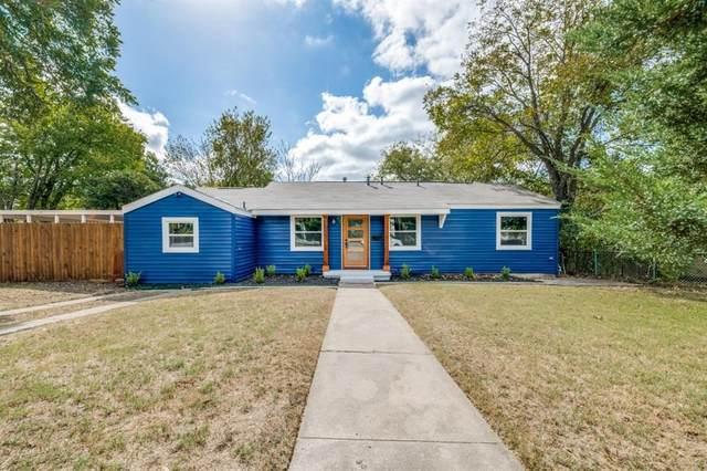 7401 Gaston Avenue, Fort Worth, TX 76116 (MLS #14452514) :: The Mauelshagen Group
