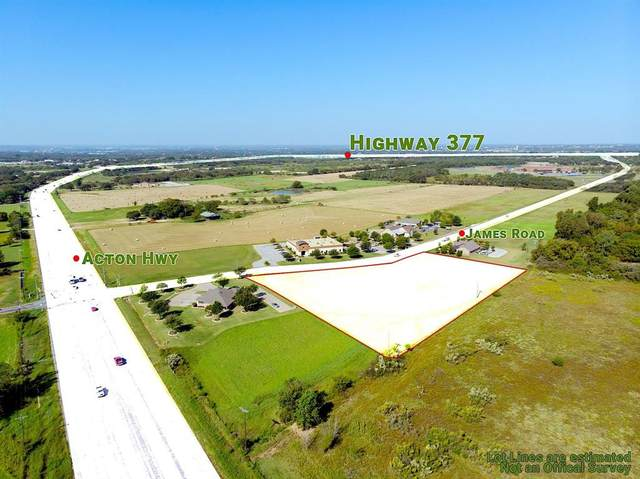 2601 James Rd Lot#4, Granbury, TX 76049 (MLS #14452710) :: The Juli Black Team