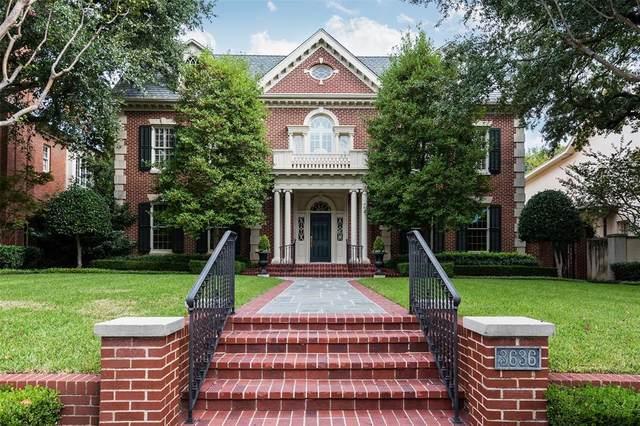 3636 Stratford Avenue, Highland Park, TX 75205 (MLS #14452779) :: The Hornburg Real Estate Group