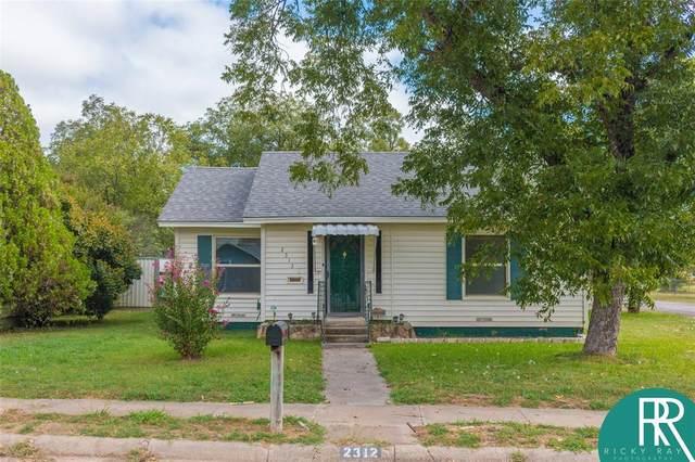 2312 Vine Street, Brownwood, TX 76801 (MLS #14453163) :: All Cities USA Realty