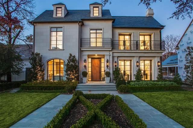 3414 Beverly Drive, Highland Park, TX 75205 (MLS #14453463) :: The Hornburg Real Estate Group