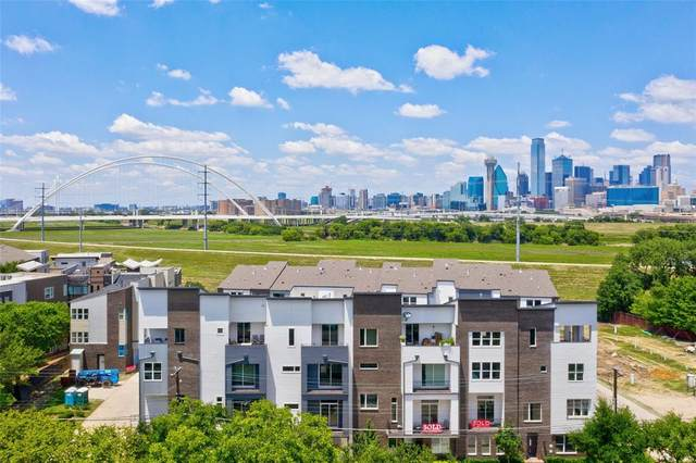 381 E Greenbriar Lane #1301, Dallas, TX 75203 (MLS #14453690) :: The Hornburg Real Estate Group