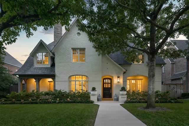 3305 Marquette Street, University Park, TX 75225 (MLS #14453877) :: The Mitchell Group