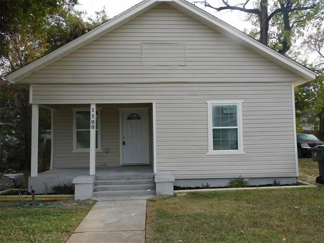 1500 E Morphy Street, Fort Worth, TX 76104 (MLS #14454599) :: All Cities USA Realty