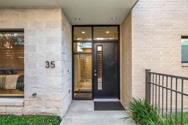 4111 Newton Avenue #35, Dallas, TX 75219 (MLS #14454664) :: The Kimberly Davis Group