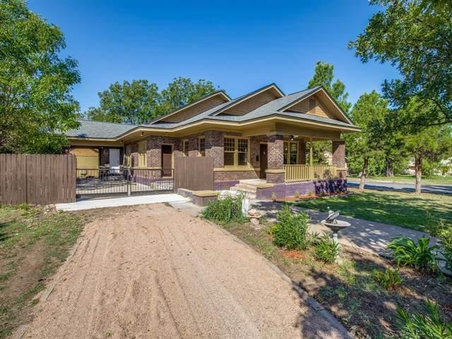 542 Mulberry Street, Abilene, TX 79601 (MLS #14454949) :: The Mauelshagen Group