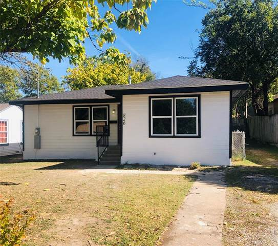 826 S Barnett Avenue, Dallas, TX 75211 (MLS #14455181) :: The Mauelshagen Group