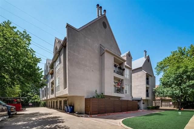 4303 Buena Vista Street #103, Dallas, TX 75205 (MLS #14455208) :: HergGroup Dallas-Fort Worth