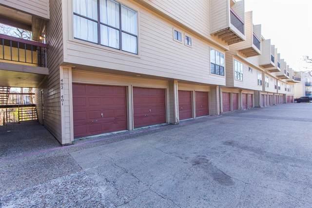 7660 Skillman Street #402, Dallas, TX 75231 (MLS #14455259) :: The Tierny Jordan Network