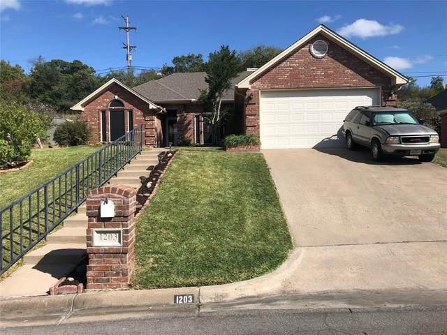 1203 Westbriar Drive, Weatherford, TX 76086 (MLS #14455563) :: Maegan Brest   Keller Williams Realty