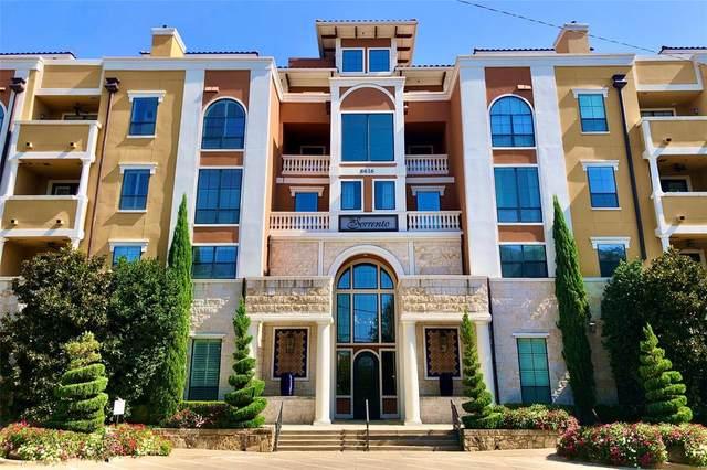 8616 Turtle Creek Boulevard #405, Dallas, TX 75225 (MLS #14455630) :: The Tierny Jordan Network