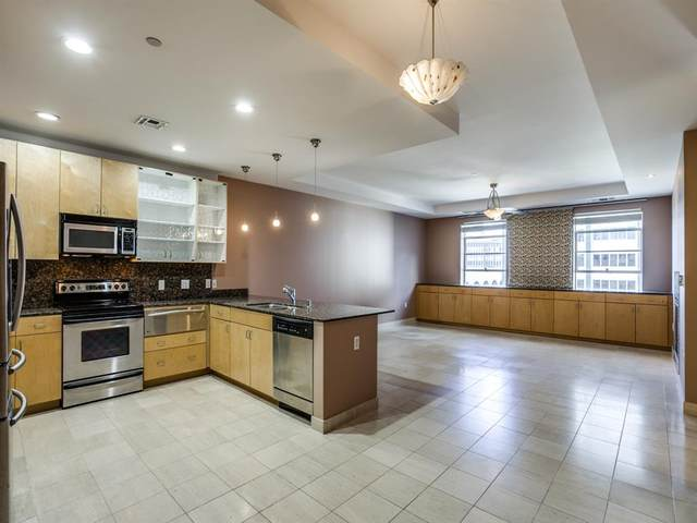 1505 Elm Street #705, Dallas, TX 75201 (MLS #14455634) :: Front Real Estate Co.