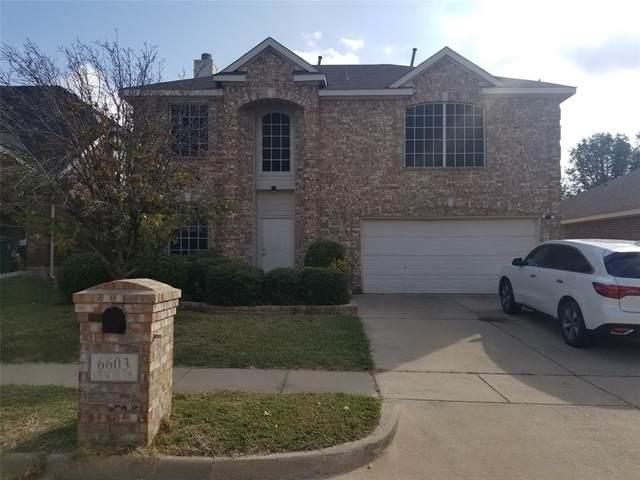 6603 Spencer Drive, Arlington, TX 76002 (MLS #14455689) :: The Tierny Jordan Network