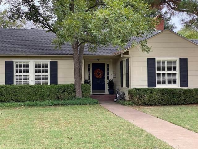 942 Elmwood Drive, Abilene, TX 79605 (MLS #14456083) :: Real Estate By Design