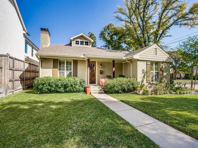 7202 Morton Street, Dallas, TX 75209 (MLS #14456106) :: Robbins Real Estate Group