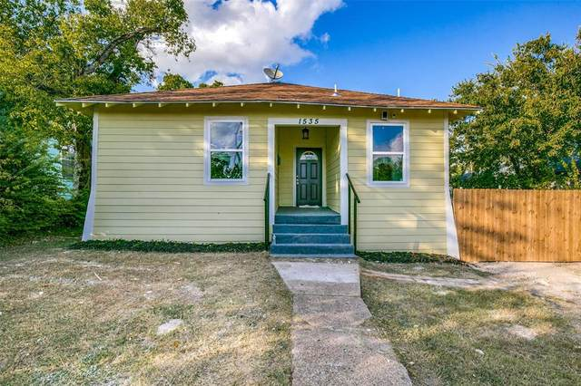 1535 Iowa Avenue, Dallas, TX 75216 (MLS #14456157) :: Lyn L. Thomas Real Estate | Keller Williams Allen