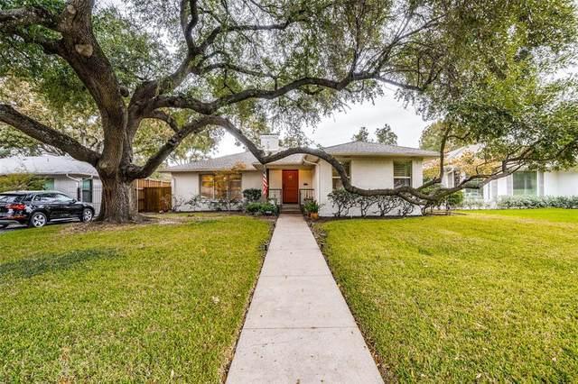 6163 Monticello Avenue, Dallas, TX 75214 (MLS #14456357) :: Real Estate By Design
