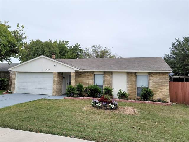4920 Wampler Drive, The Colony, TX 75056 (MLS #14456612) :: Real Estate By Design