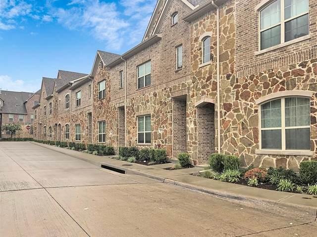 4401 Benton Lane #9, Carrollton, TX 75010 (MLS #14456715) :: The Mauelshagen Group