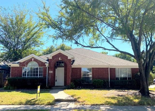 912 Mustang Drive, Allen, TX 75002 (MLS #14457158) :: The Good Home Team