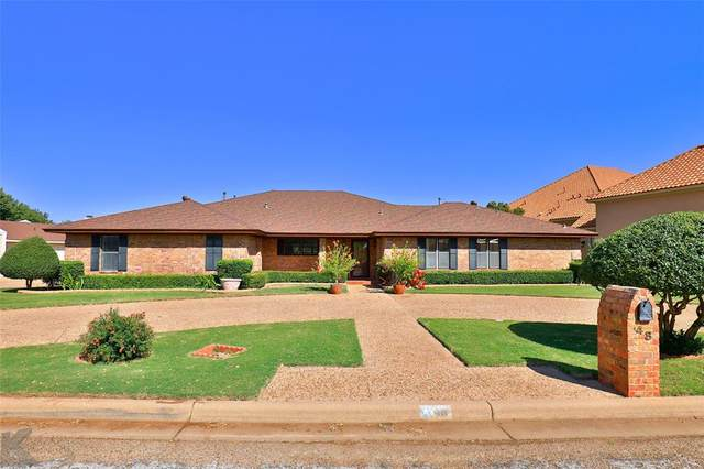 48 Pinehurst, Abilene, TX 79606 (MLS #14457237) :: The Hornburg Real Estate Group