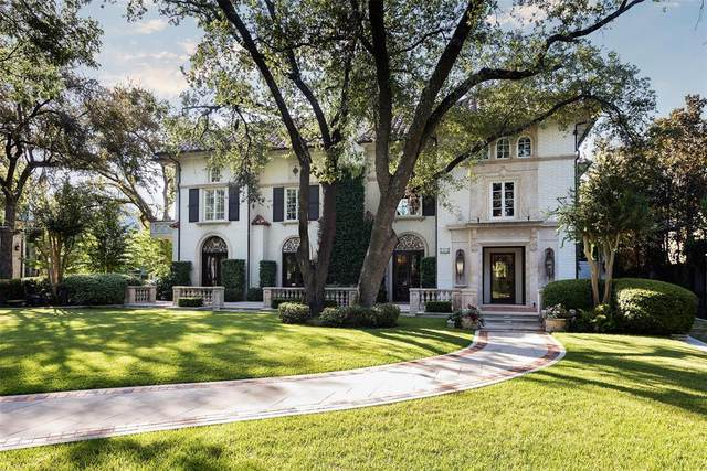 3601 Beverly Drive, Highland Park, TX 75205 (MLS #14457936) :: Robbins Real Estate Group