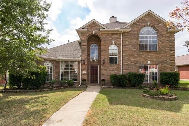 1423 Tartan Drive, Allen, TX 75013 (MLS #14458169) :: The Mauelshagen Group