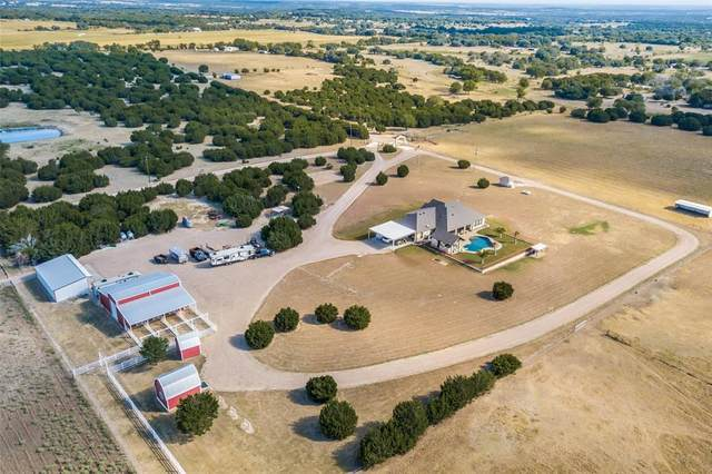 232 Private Road 1111, Meridian, TX 76665 (MLS #14458209) :: All Cities USA Realty