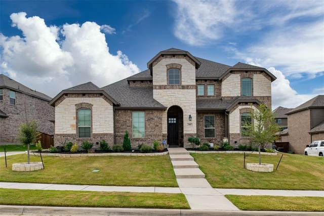 145 St Elias Drive, Burleson, TX 76028 (MLS #14458288) :: All Cities USA Realty