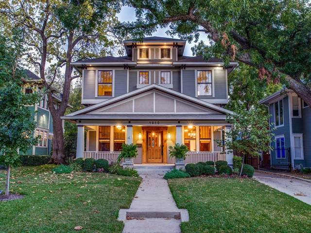 4830 Swiss Avenue, Dallas, TX 75204 (MLS #14458353) :: Lyn L. Thomas Real Estate | Keller Williams Allen