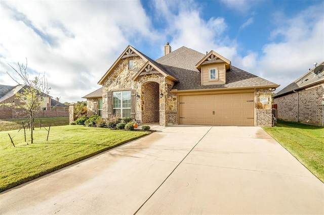 201 Hawks Ridge Trail, Burleson, TX 76028 (MLS #14458423) :: All Cities USA Realty