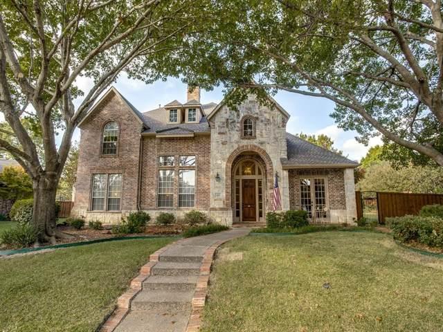 615 Driftwood Court, Allen, TX 75013 (MLS #14458517) :: The Mauelshagen Group