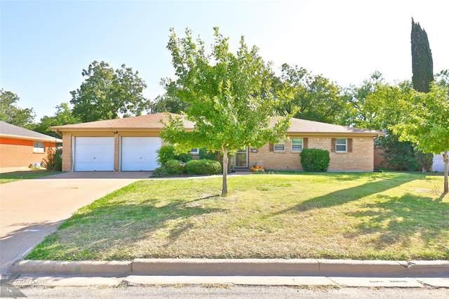 865 Harrison Avenue, Abilene, TX 79601 (MLS #14458613) :: Maegan Brest   Keller Williams Realty