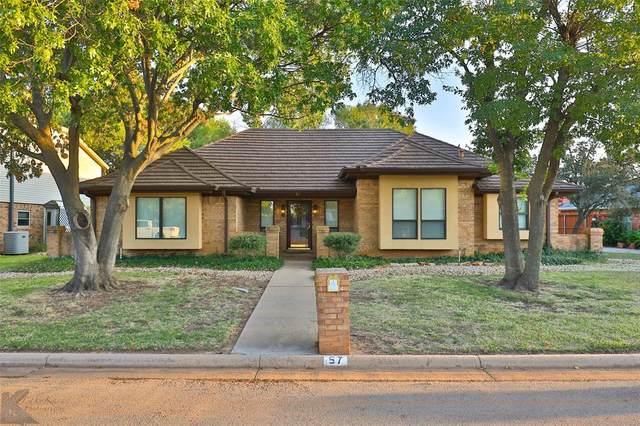 57 Augusta Drive, Abilene, TX 79606 (MLS #14458674) :: Trinity Premier Properties