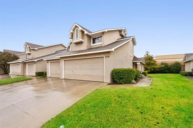 8400 Hickory Street #1504, Frisco, TX 75034 (MLS #14458728) :: Keller Williams Realty