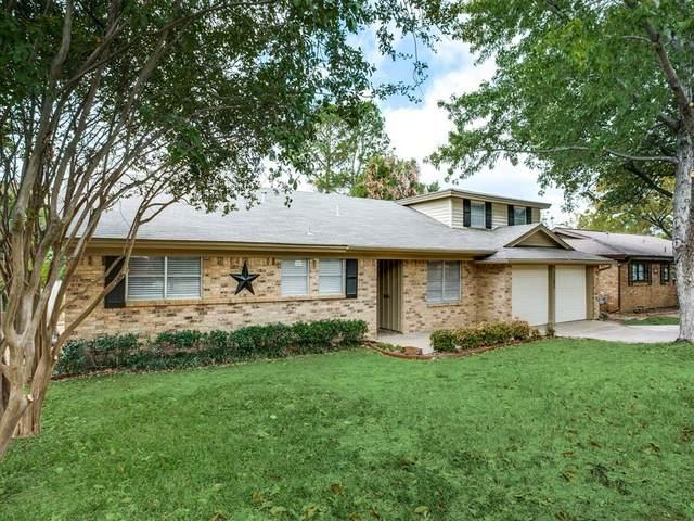 1121 Irwin Drive, Hurst, TX 76053 (MLS #14458974) :: The Mauelshagen Group